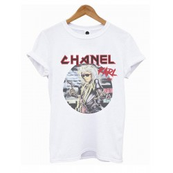 CAMISETA BLANCA KARL TOUR