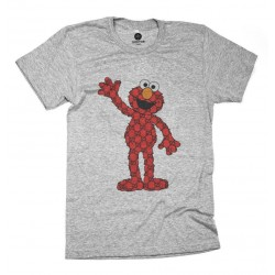 CAMISETA GRIS MONSTER