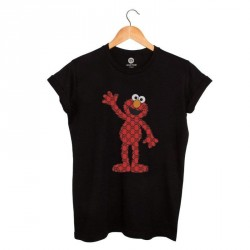 CAMISETA NEGRA MONSTER