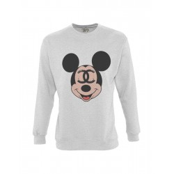 SUDADERA GRIS MOUSE