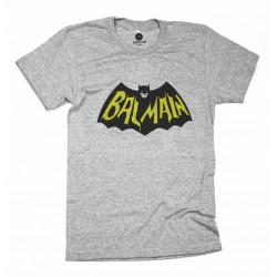CAMISETA GRIS BATLMAIN