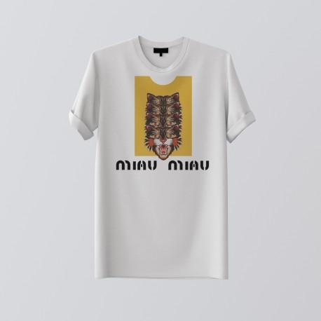 MIAU WHITE TSHIRT