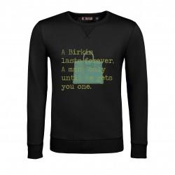 birkin black sweatshirt